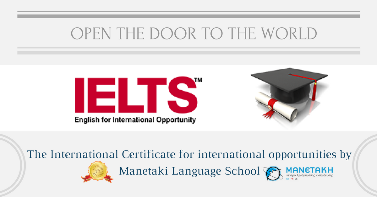 OPEN THE DOOR TO THE WORLD with IELTS