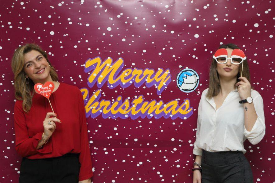 Η μαγεία των Χριστουγέννων στο Manetaki Language School