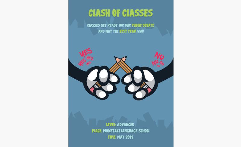 Clash of Classes Manetaki
